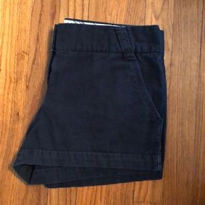 J. Crew City Fit Chino Shorts - navy
